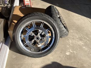 Harley Davidson wheels and tires for Sale in Fontana, CA
