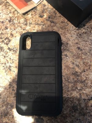 iPhone X and XS otter box defender series for Sale in Stafford Township, NJ