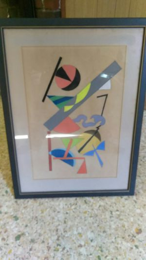 Cool Abstract Art piece Conte Crayons for Sale in Knoxville, TN
