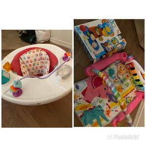 Baby Chair,Tummy Time And New Toy for Sale in Phoenix, AZ