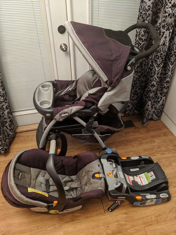 Stroller, Carseat, Combo, Chicco Key Fit 30, Base