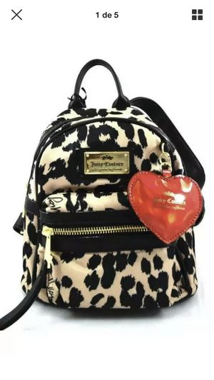 JUICY COUTURE GLAM ROCK MINI BROWN BLACK LEOPARD BACKPACK New with tag 🏷 retail price $ 79 for Sale in Bridgewater, MA