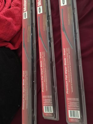 Windshield wipers assorted sizes $20$ for all for Sale in Pine Hills, FL