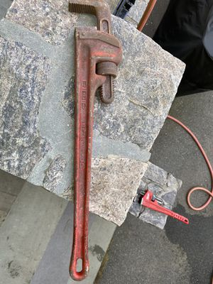 Ridgid 24 in. Heavy-Duty Straight Pipe Wrench for Sale in The Bronx, NY