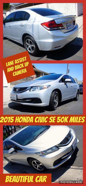 2015 Honda Civic SE 50K miles for Sale in Los Angeles, CA