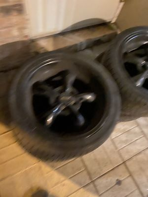 18 inch American muscle rims in great shape for Sale in Baltimore, MD