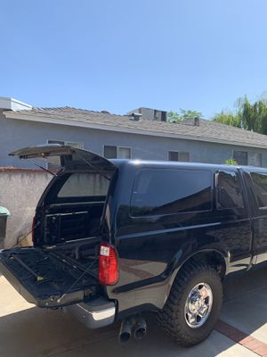 Ford short bed camper shell for Sale in Burbank, CA
