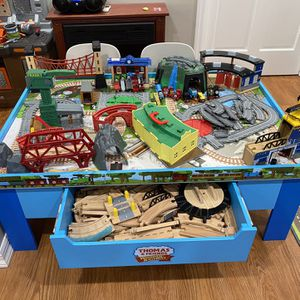 Thomas The Train Table and Tracks for Sale in Staten Island, NY