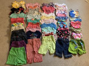 LOT of 18 month babygirl summer wear for Sale in Cumberland, RI