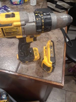 Good dewalt drill 20 v only need charger for Sale in Pittsburgh, PA