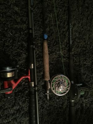 Fishing rods and reels for Sale in Beaverton, OR