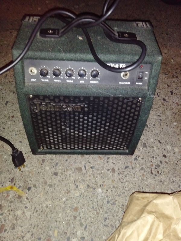 Johnson amp tone 1