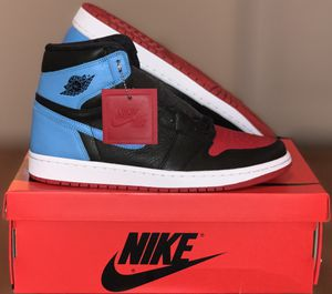 Air Jordan 1 UNC to CHI Size 12 (wmns) 10.5 (men's) Brand New DS with receipt... for Sale in Highland, CA