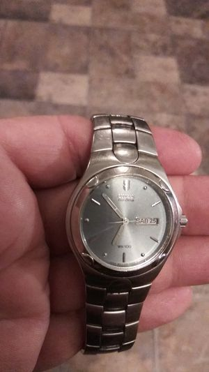 Citizen Eco-Drive silver tone watch great watches for Sale in Warren, MI