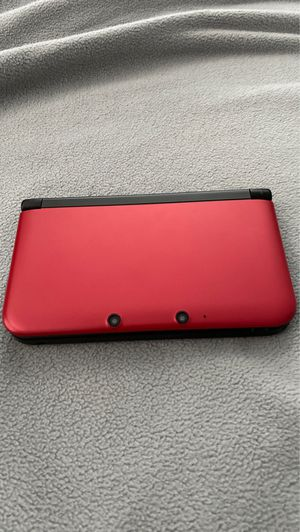 Red Nintendo 3DS XL opened and used once for Sale in Stamford, CT