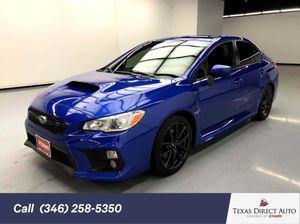 2018 Subaru WRX for Sale in Stafford, TX