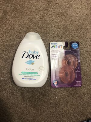 Baby Lotion and Pacifiers for Sale in Irwindale, CA
