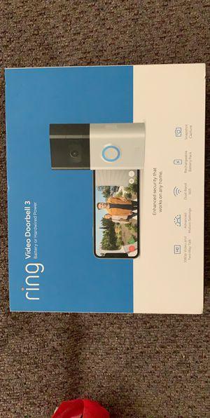 Ring Video Doorbell 3 for Sale in Phoenix, AZ