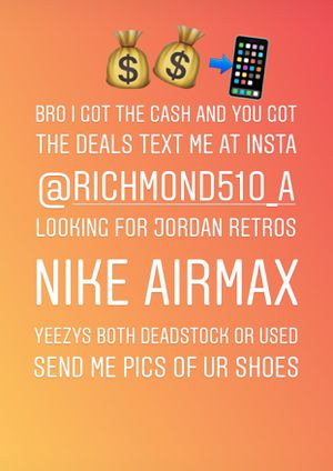 Jordan Retro Yeezy Nike AIRMAX for Sale in Richmond, CA