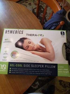 Homedics Thera-plus cool gel pillow NEW for Sale in Chelmsford, MA