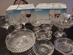 Glass cups and antiques for Sale in Houston, TX