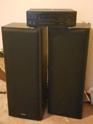 Denon Stereo Receiver & Technics Speakers for Sale in Jonesboro, GA