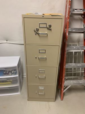 Filing cabinet for Sale in Morrison, CO