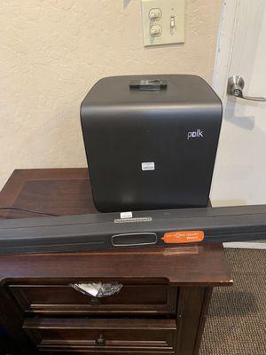 Polk audio soundbar for Sale in Modesto, CA