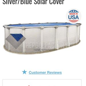 12x 16 Oval Space Age Solar Cover Brand New for Sale in Tampa, FL