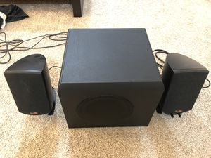 Klipsche Speakers with Subwoofer for TV or Computer for Sale in North Miami Beach, FL