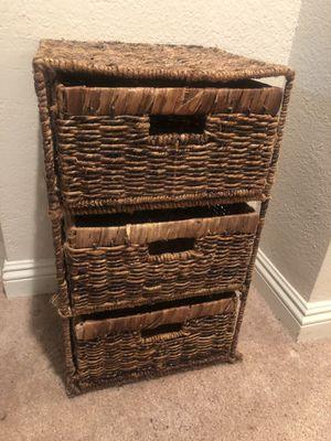 Wicker Dresser for Sale in Los Angeles, CA