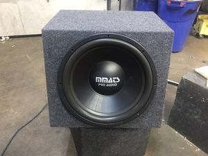 Mmats Pro Audio 15inch for Sale in Palatine, IL