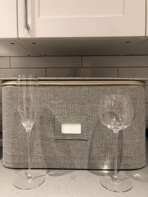 Crate & Barrel Camille Long Stem Glassware for Sale in New York, NY