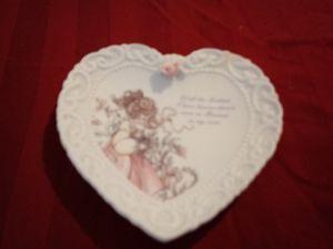 Precious Moments decorative heart for Sale in Wichita, KS