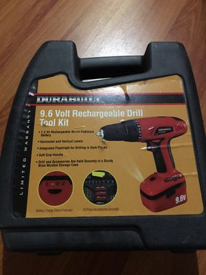 Durabuilt Rechargeable Drill tool kit for Sale in Los Angeles, CA