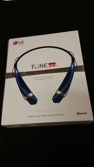 LG Tone Pro Bluetooth Headset (HBS-760) Blue for Sale in Irving, TX