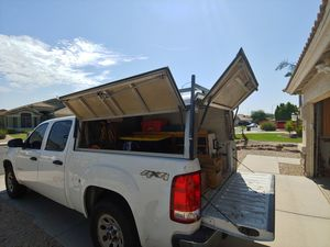 A.R.E. Work camper shell with rack for Sale in Mesa, AZ