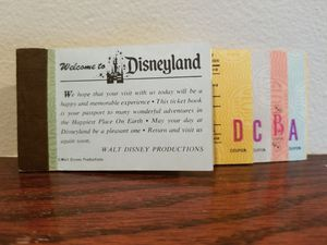 Old Disneyland Park Admission Tickets for Sale in Lombard, IL