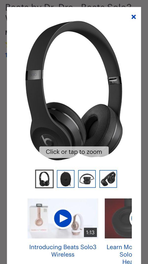Beats by Dr. Dre - Beats Solo3 Wireless Headphones - matte Black