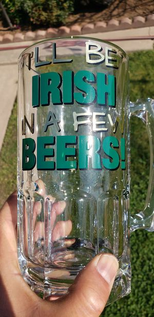 St. Patrick's Day Beer Mug for Sale in Fresno, CA
