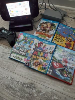 Nintendo Wii U bundle for Sale in Newport News, VA