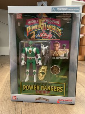 Auto Morphin Power Rangers Tommy Green Ranger for Sale in North Port, FL
