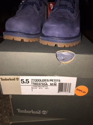 BLUE Timberland Boots Toddlers (2) LEFT for Sale in St. Louis, MO