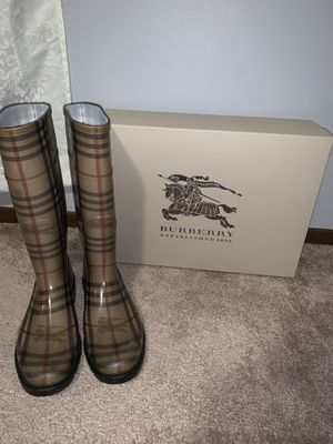 Burberry Rain Boots for Sale in North Olmsted, OH