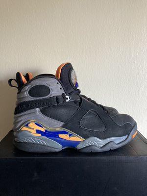 Nike Air Jordan 8 retro Phoenix suns men's size 9.5 preowned for Sale in Pasadena, CA