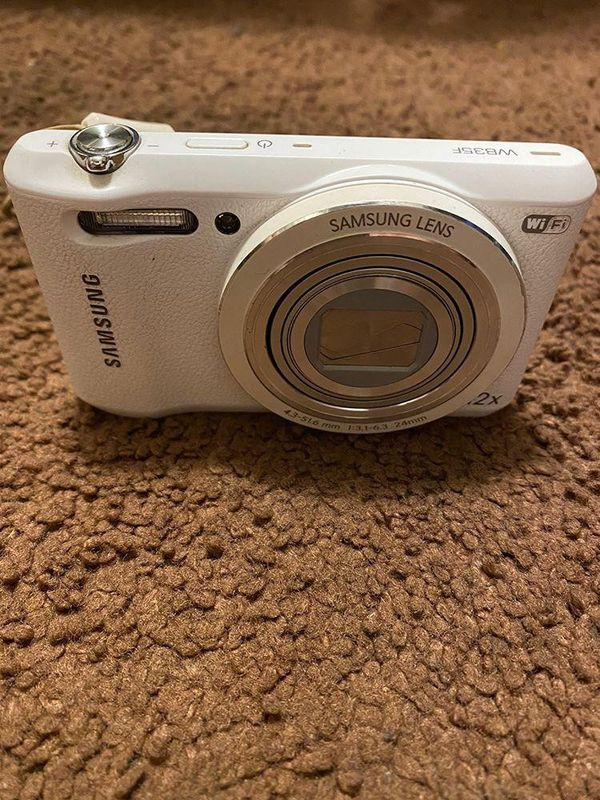 Samsung Camera (White)