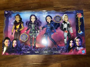Descendants Four Pack Dolls for Sale in Los Angeles, CA