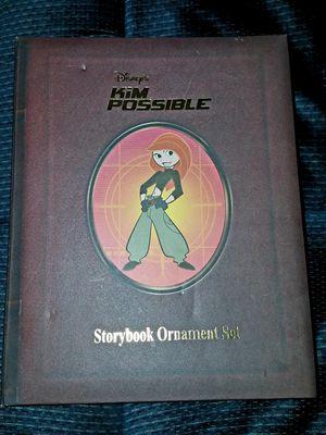 Disney Kim Possible Storybook Ornaments - Christmas 2013 for Sale in Phoenix, AZ