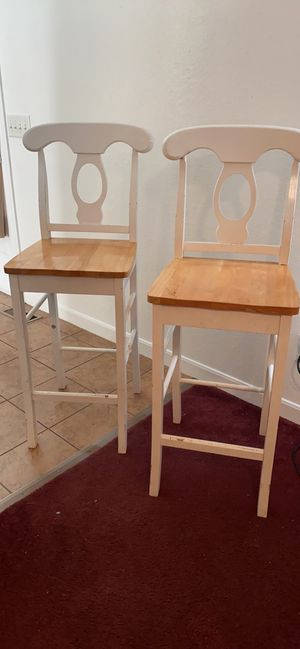 2 Kitchen Bar Stools (pickup preferred) for Sale in Toledo, OH