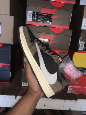 Travis Scott x Air Jordan 1 Low for Sale in Manchester, NH